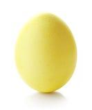 αυγό Πάσχας κίτρινο Στοκ Φωτογραφίες