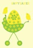 αυγό Πάσχας κοτόπουλων Στοκ Φωτογραφία