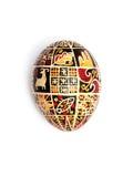 αυγό Πάσχας Ουκρανός Στοκ εικόνα με δικαίωμα ελεύθερης χρήσης
