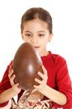 αυγό Πάσχας παιδιών Στοκ εικόνες με δικαίωμα ελεύθερης χρήσης