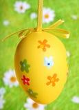 αυγό Πάσχας που χρωματίζεται Στοκ Εικόνες