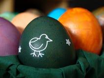 αυγό Πάσχας πράσινο στοκ εικόνα με δικαίωμα ελεύθερης χρήσης