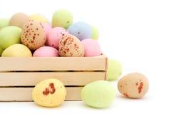αυγό Πάσχας σοκολάτας κ&al Στοκ εικόνες με δικαίωμα ελεύθερης χρήσης