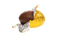 αυγό Πάσχας σοκολάτας Στοκ εικόνα με δικαίωμα ελεύθερης χρήσης
