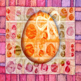 αυγό Πάσχας απεικόνιση αποθεμάτων
