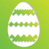 Αυγό Πάσχας Decrorated απεικόνιση αποθεμάτων