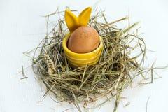 Αυγό Πάσχας egg-cup Στοκ Εικόνες