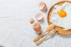 αυγό που τηγανίζεται Στοκ Εικόνα