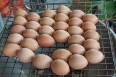 Αυγό που ψήνεται στη σχάρα Στοκ φωτογραφία με δικαίωμα ελεύθερης χρήσης
