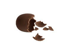 Αυγό σοκολάτας ελεύθερη απεικόνιση δικαιώματος