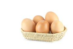 Αυγό στο καλάθι Στοκ Εικόνες