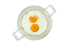 Αυγό στο τηγάνι Στοκ εικόνες με δικαίωμα ελεύθερης χρήσης