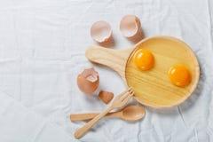 Αυγό της Υόρκης Στοκ φωτογραφίες με δικαίωμα ελεύθερης χρήσης