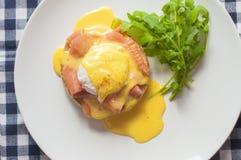 αυγό του Benedict Στοκ Εικόνα