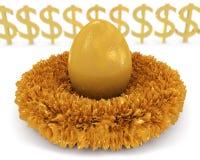 Αυγό φωλιών Στοκ Εικόνα