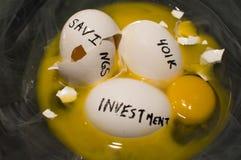 Αυγό φωλιών Στοκ φωτογραφία με δικαίωμα ελεύθερης χρήσης