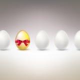 αυγό χρυσό Διαφορά, εικόνα έννοιας μοναδικότητας Στοκ εικόνα με δικαίωμα ελεύθερης χρήσης