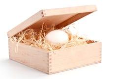 αυγό thebox Στοκ φωτογραφία με δικαίωμα ελεύθερης χρήσης