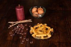 Αυγό turron Στοκ Εικόνες