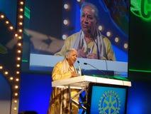 Αυθεντία Hari Prasad Chaurasia Στοκ Εικόνες