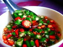 αυθεντικά τρόφιμα ταϊλανδ& Στοκ Εικόνα