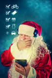 Αυθεντικός Άγιος Βασίλης Στοκ εικόνα με δικαίωμα ελεύθερης χρήσης
