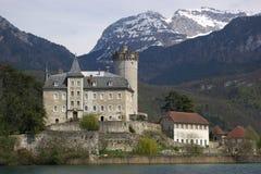 αυθεντικό κάστρο γαλλι&ka Στοκ Φωτογραφία