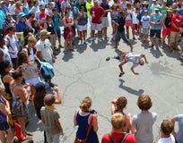 Αυθόρμητος χορός σπασιμάτων Στοκ Εικόνες