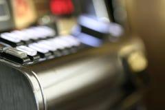 αυλάκωση μηχανών κουμπιών Στοκ Φωτογραφίες