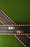 αυλάκωση 4 αυτοκινήτων Στοκ φωτογραφία με δικαίωμα ελεύθερης χρήσης