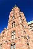 Αυλάκωση Castle Rosenorg Στοκ εικόνα με δικαίωμα ελεύθερης χρήσης