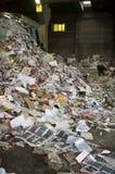 αυλή απορρίματος εγγράφ&omic Στοκ φωτογραφία με δικαίωμα ελεύθερης χρήσης