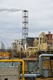 αυλή εργοστασίων Στοκ Εικόνες