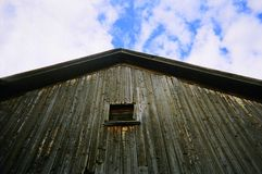 αυλή μνημών σιταποθηκών Στοκ φωτογραφία με δικαίωμα ελεύθερης χρήσης