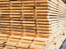 αυλή ξυλείας Στοκ φωτογραφία με δικαίωμα ελεύθερης χρήσης