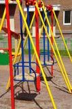 αυλή παιδικών χαρών s παιδιών Στοκ Εικόνες
