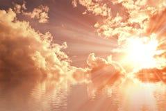 αυξήθηκε ήλιος θάλασσα&si Στοκ Εικόνα