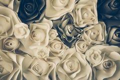 Αυξήθηκε λουλούδι φιαγμένο από έγγραφο Στοκ εικόνα με δικαίωμα ελεύθερης χρήσης