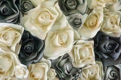 Αυξήθηκε λουλούδι φιαγμένο από έγγραφο Στοκ φωτογραφία με δικαίωμα ελεύθερης χρήσης