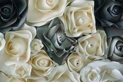 Αυξήθηκε λουλούδι φιαγμένο από έγγραφο Στοκ εικόνες με δικαίωμα ελεύθερης χρήσης