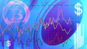 Αυξανόμενα επιχειρησιακά διαγράμματα ΗΠΑ οικονομικές φιλμ μικρού μήκους