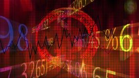 Αυξανόμενα επιχειρησιακά διαγράμματα ΗΠΑ οικονομικές απόθεμα βίντεο