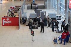 Αυξανόμενα μέτρα ασφάλειας Στοκ Εικόνες