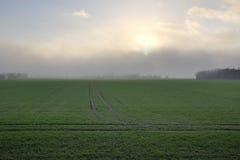 Αυξανόμενη θύελλα πέρα από Grubenhagen Στοκ Εικόνα