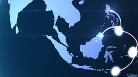 Αυξανόμενο δίκτυο σε όλη την υδρόγειο