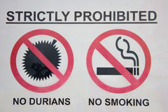 Αυστηρά απαγορευμένος Στοκ εικόνες με δικαίωμα ελεύθερης χρήσης