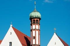 Αυστηρή μονή της Μαρίας στο Άουγκσμπουργκ Στοκ φωτογραφία με δικαίωμα ελεύθερης χρήσης