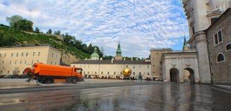 Αυστρία †«σφαίρα του Σάλτζμπουργκ - Balkenhol ` s Στοκ Εικόνες