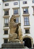 Αυστρία Βιέννη έλξη Ένα λιοντάρι Στοκ Εικόνες