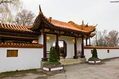 Αυστρία, Βιέννη, στις 10 Μαρτίου 2016: Το κινεζικό εστιατόριο στο κέντρο πόλεων Στοκ φωτογραφία με δικαίωμα ελεύθερης χρήσης